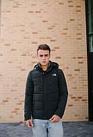 Чоловіча демісезонна куртка оптом 19052 хакі, фото 1