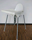 Стілець для годування зі стільницею IKEA ANTILOP 290.672.93, фото 2
