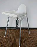 Стільчик для годування, стілець для годування ANTILOP IKEA, 290.672.93, фото 3