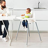 Стільчик для годування, стілець для годування ANTILOP IKEA, 290.672.93, фото 9