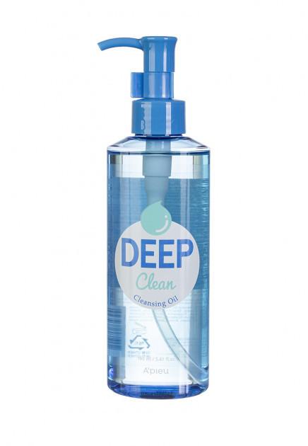Глубоко очищающее гидрофильное масло A'pieu Deep Clean Cleansing Oil 160 мл