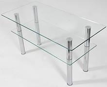 Столы журнальные из стекла
