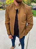 Мужская куртка M460 горчичная, фото 3