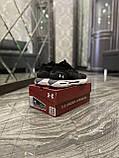 Мужские кроссовки Under Armour Hovr Phantom Black White, мужские кроссовки андер армор ховр фантом, фото 6