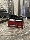 Мужские кроссовки Under Armour Hovr Phantom Black White, мужские кроссовки андер армор ховр фантом, фото 5