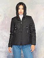 Куртка женская демисезонная MODA 00065 (42-56) XS-4XL Черный