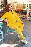 Красивый спортивный костюм женский Двунитка Размер 42 44 46 48 50 52 54 56 58 60 Разные цвета