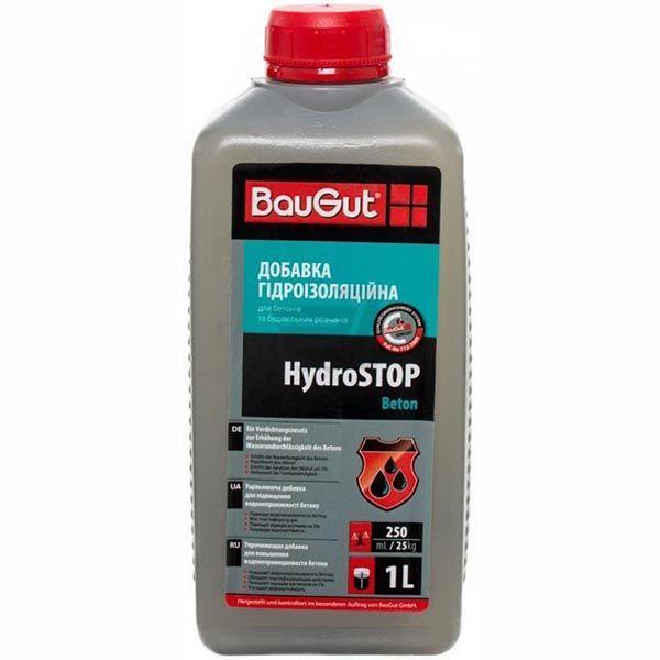 Гидрофобная добавка к бетону BauGut HydroSTOP Beton 1 л