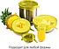 Набор многоразовых силиконовых крышек для посуды 6 штук Super Stretch SILICONE Lids ЖЕЛТЫЕ, фото 5