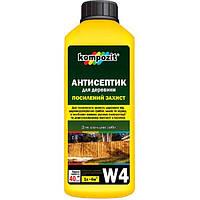 Антисептик Kompozit W4 усиленная защита 10 л