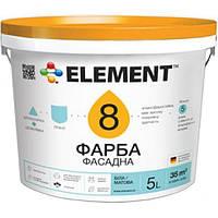 Краска Element 8 белая 1 л