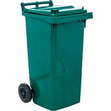 Контейнер для мусора Алеана 120 л зелений