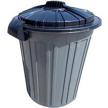 Контейнер для мусора Irak Plastik Luxury №5 Herkul 73 л