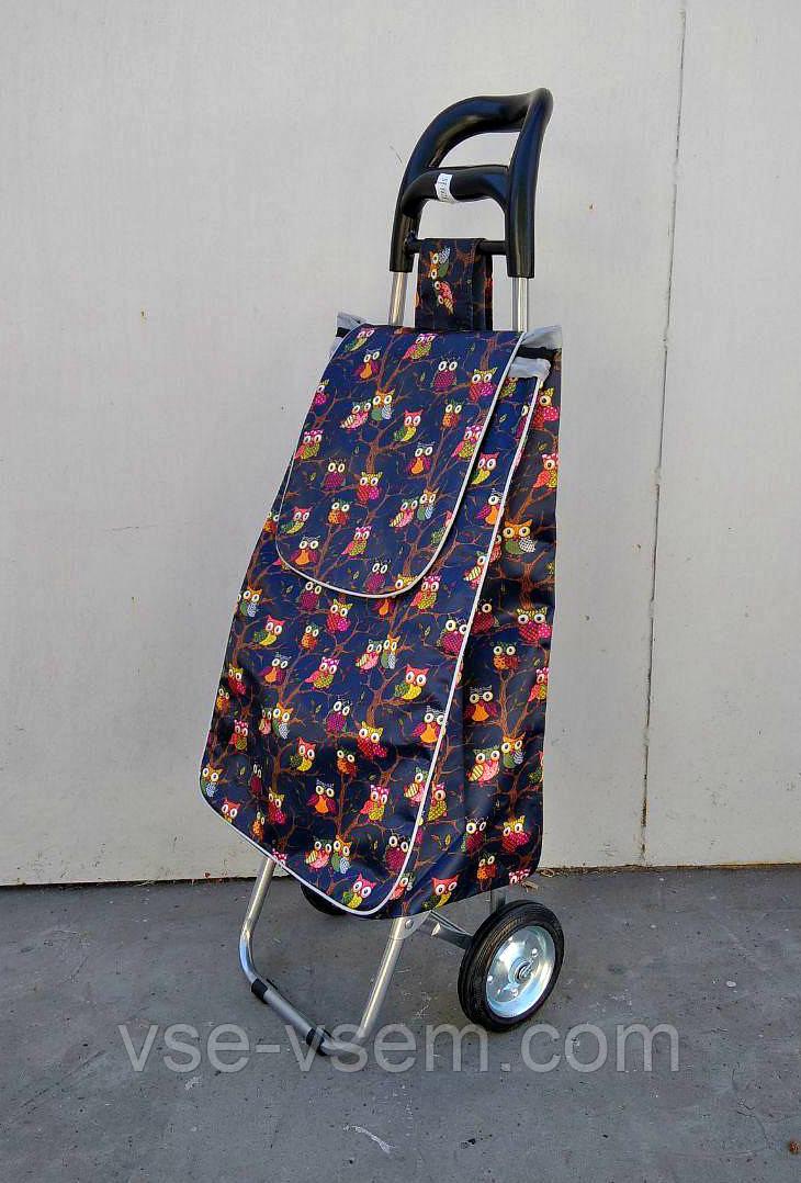 Господарська сумка візок Xiamen із залізними колесами Shoping brown strawberries (0098)