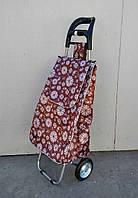 Хозяйственная сумка тележка Xiamen с железными колесами, фото 1
