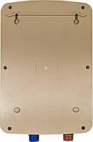 Проточный водонагреватель c душем Nux XA-F60 Gold с дисплеем 5500В IPX4 50Гц электрический бойлер для нагрева