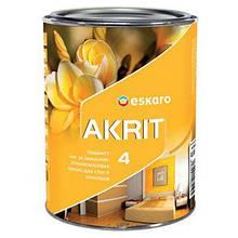 Краска Eskaro Akrit 4 А 0.95 л