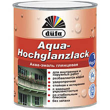 Эмаль Dufa Aqua-Hochglanzlack 0.75 л