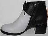 Ботинки женские кожаные от производителя модель КЛ2059-2, фото 3