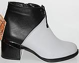 Ботинки женские кожаные от производителя модель КЛ2059-2, фото 2