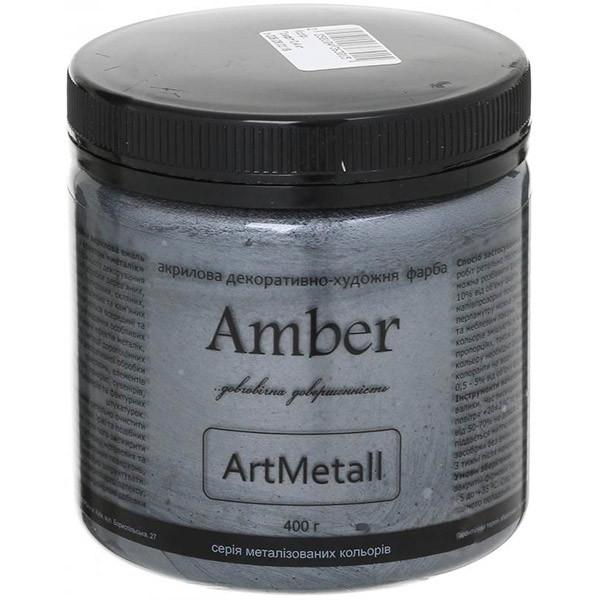 Краска акриловая Amber Графит 0.4 кг