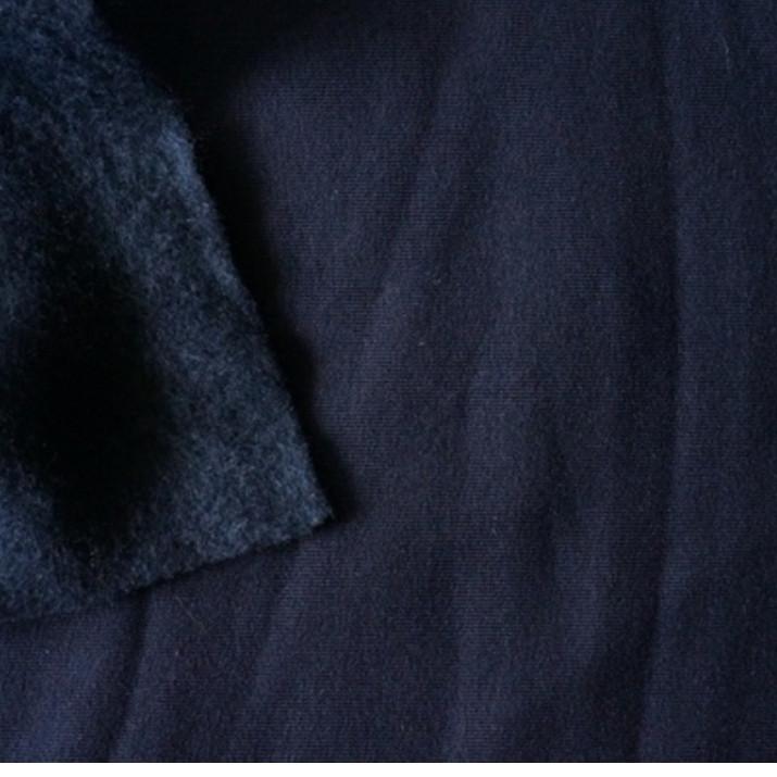 Трехнитка с начесом Темно синяя, плотность 320 г/м2