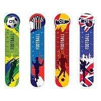 Закладки пластиковые Football, 4 шт CF69110-03