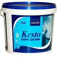 Фуга Kiilto Kesto 10 белая 3 кг