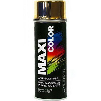 Аэрозоль Maxi Color золотой 400 мл