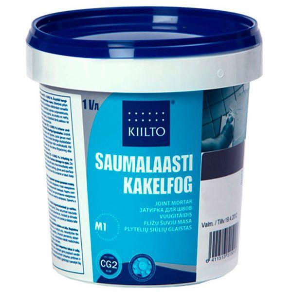 Фуга Kiilto Kesto 50 черная 1 кг