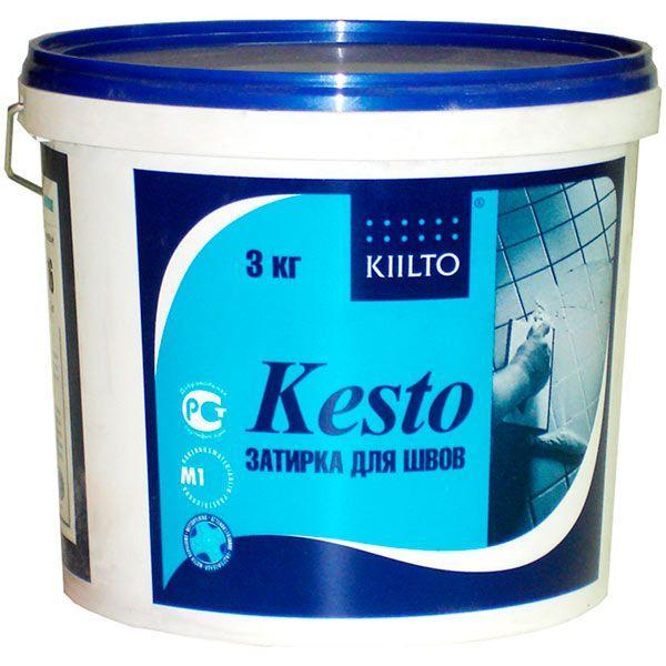 Фуга Kiilto Kesto 41 средне-серая 3 кг