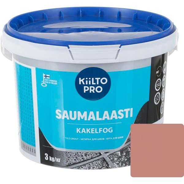 Фуга Kiilto 85 3 кг темно-терракотовая