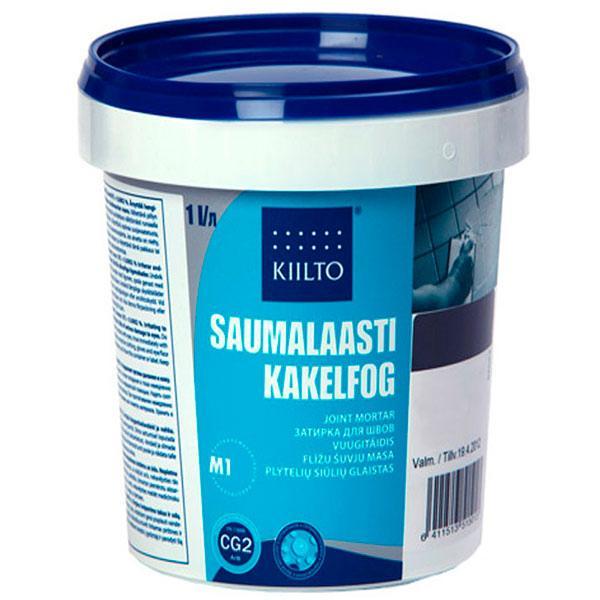 Фуга Kiilto Kesto 39 светло-мраморная 1 кг