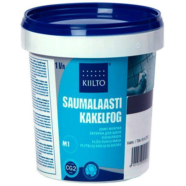 Фуга Kiilto Kesto 41 средне-серая 1 кг