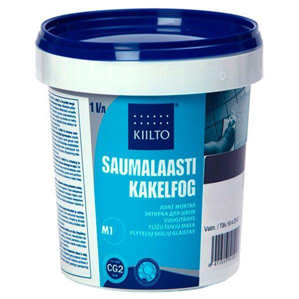 Фуга Kiilto Kesto 90 ледяно-синяя 1 кг