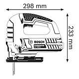 Электролобзик Bosch Professional GST 8000 E, фото 4