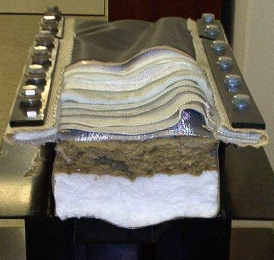 Компенсаторы с теплоизоляционным вкладышем