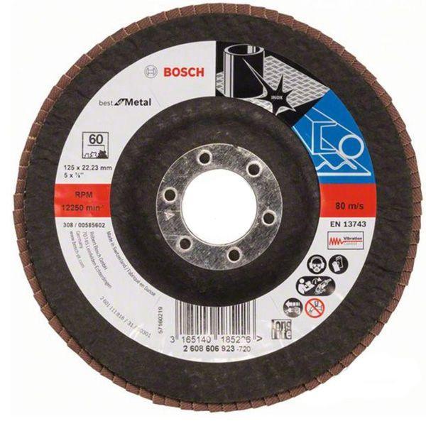 Круг лепестковый Bosch 125 мм P60 2608606923