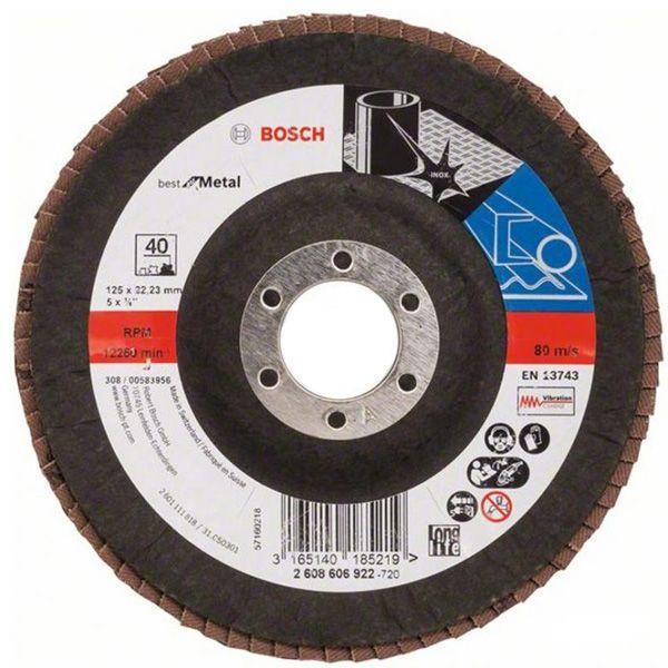 Круг шлифовальный Bosch 2608606922 125 мм
