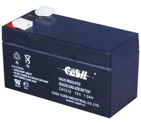 Аккумулятор Свинцово-кислотный Батарея CASIL CA1213 1.3Ah, 12V