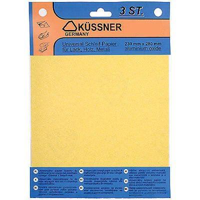 Бумага наждачная 230x280 мм 40 (3 шт)