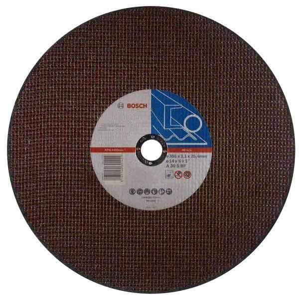 Круг отрезной Bosch D355x25.4x3.1 мм металл