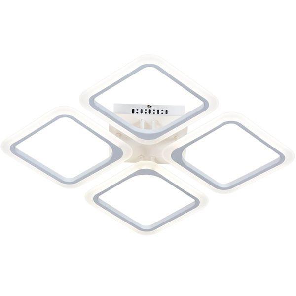 Люстра светодиодная Victoria Lighting Rhombus/PL4 с пультом ДУ 60 Вт белый