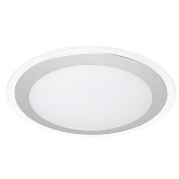 Светильник светодиодный Hopfen ALR 18 Вт белый/серый 5200 К