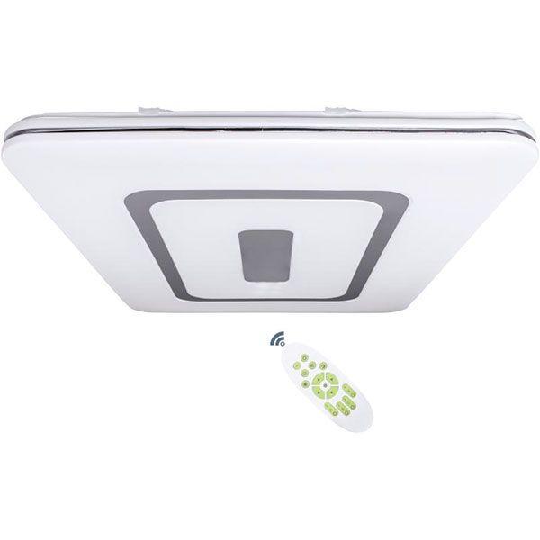 Светильник светодиодный Estares Quadron Double с пультом ДУ 136 Вт белый 3000-6500 К