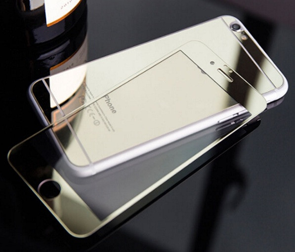 Зеркальное защитное стекло для iPhone 6 6S двухстороннее