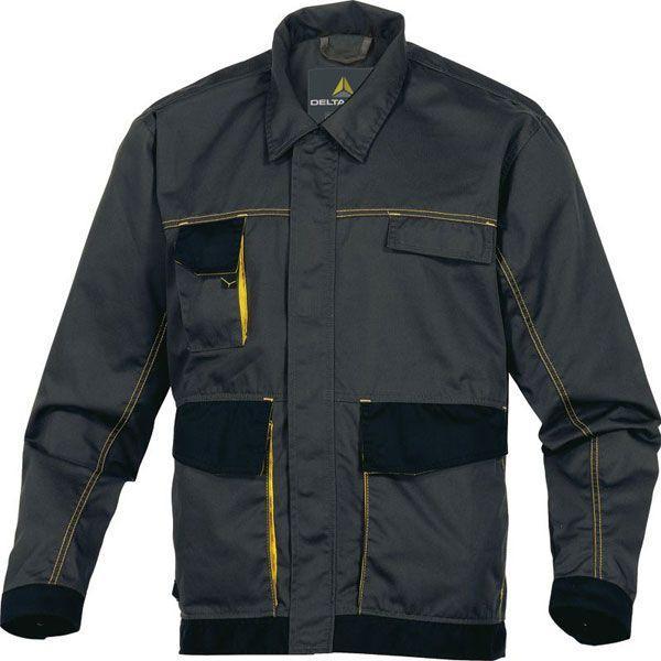 Куртка Delta Plus D-Mach серый/желтый M