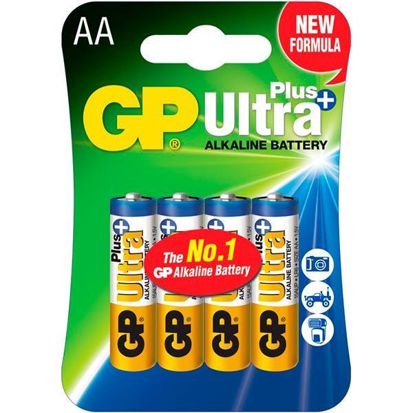Батарейка GP Ultra+ 15AUP-2CR4 4шт АА