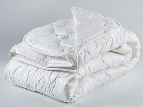Одеяло полуторное холофайбер хлопок 150*210 (4414) TM KRISPOL Украина, фото 2