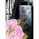 Декоративная наклейка Розы розовые 49x70 см, фото 2